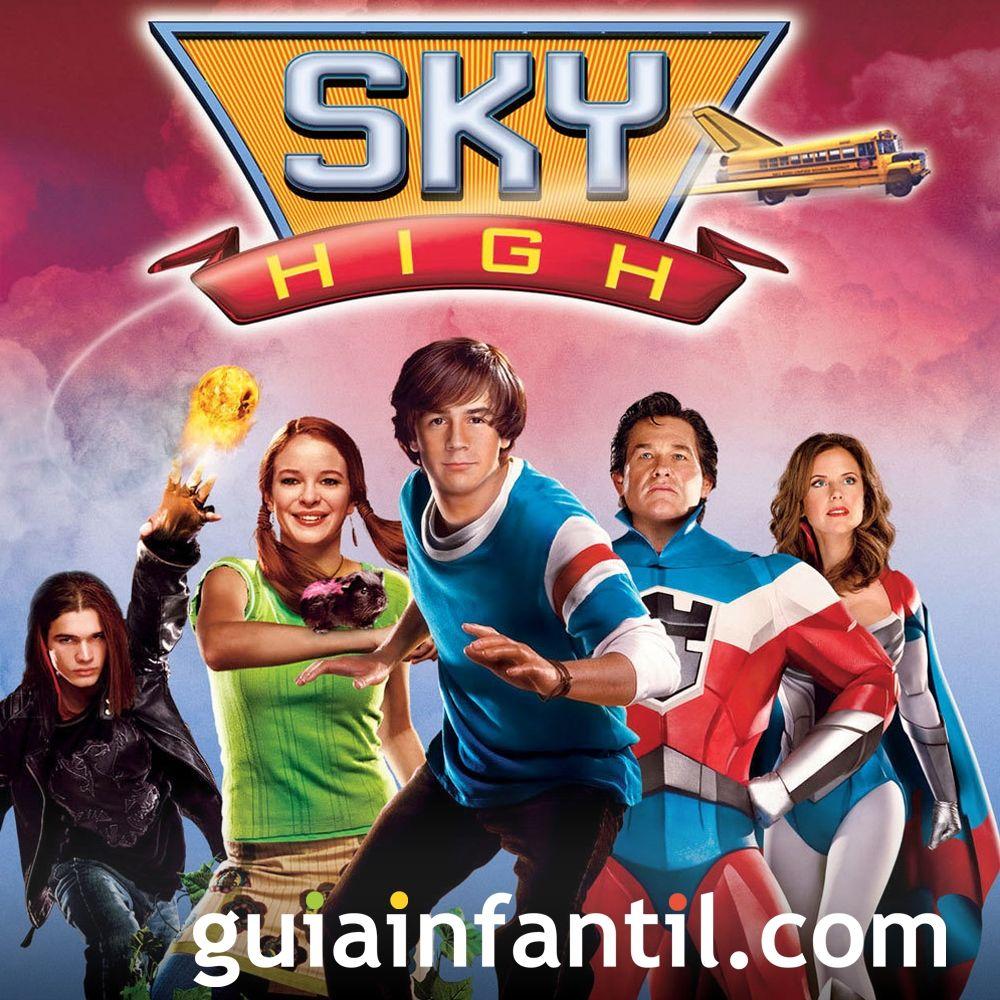 Sky High. Películas de superhéroes para los niños