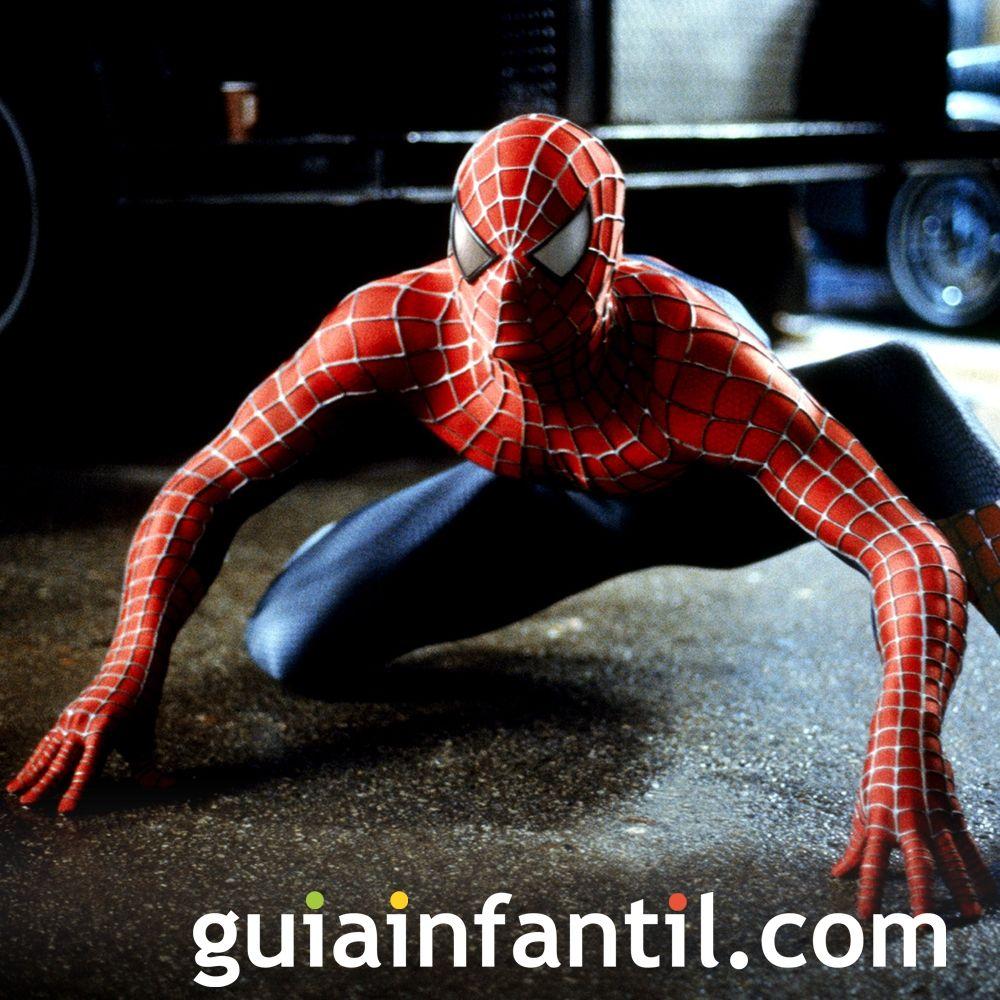 Spiderman. Películas para niños de superhéroes