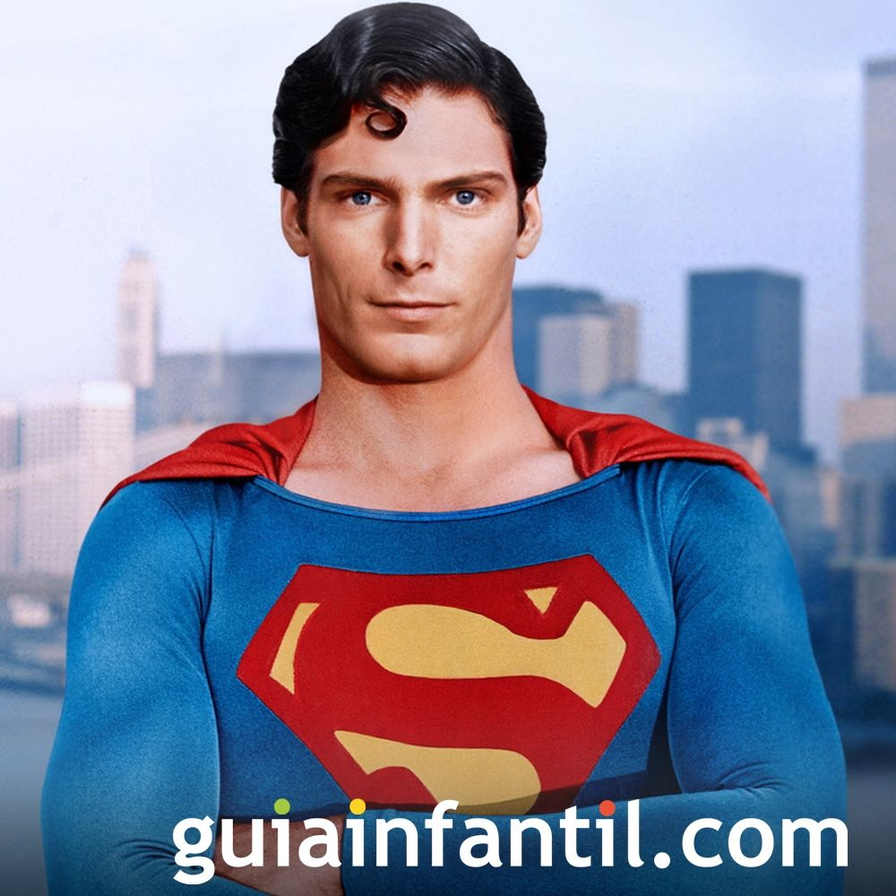 Películas para niños de superhéroes. Superman