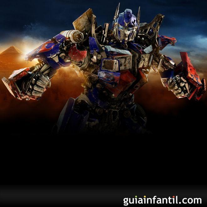 Transformers. Películas para niños de superhéroes