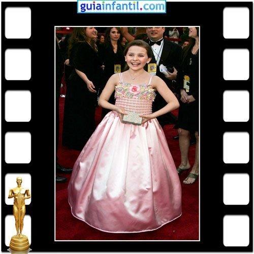 La actriz Abigail Breslin fue nominada a los Premios Oscar por Pequeña Miss Sunshine
