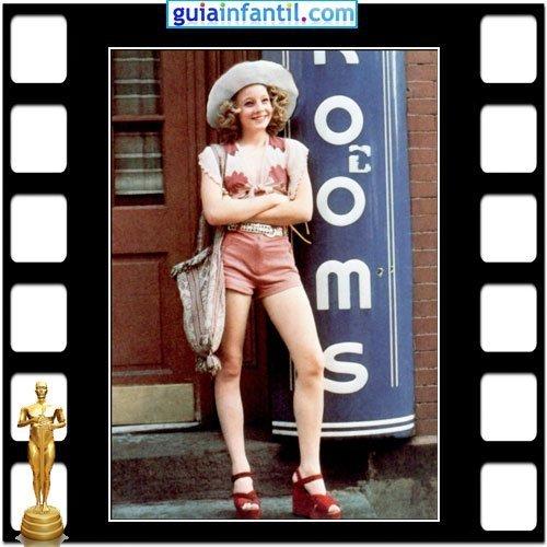 La actriz Jodie Foster fue nominada a los Premios Oscar por Taxi Driver