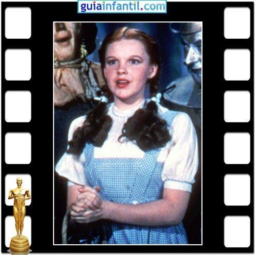 La actriz Judy Garland ganó un Premio Oscar Honorífico por El Mago de Oz