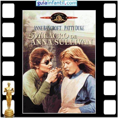 La actriz Patty Duke ganó un Premio Oscar por el El Milagro de Ana Sullivan