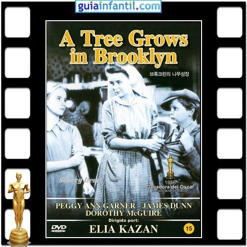 La actriz Peggy Ann Garner ganó un Premio Oscar por A Tree Grows in Brooklyng