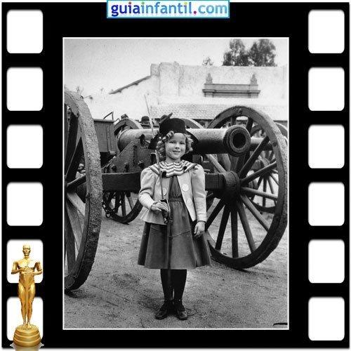 La famosa actriz Shirley Temple ganó un Premio Oscar Honorífico