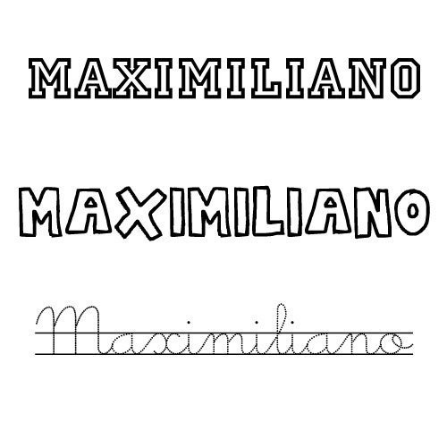 Maximiliano. Nombres para niños