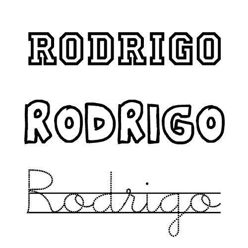 Rodrigo. Nombres para niños