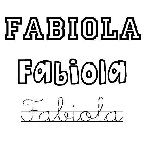 Fabiola. Nombres para niñas