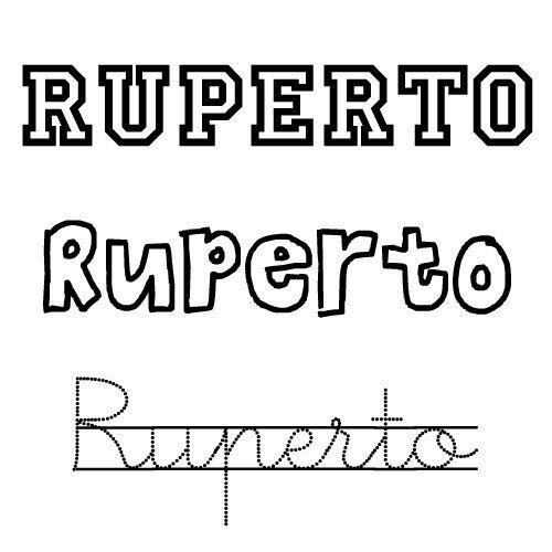 Ruperto. Nombres para niños