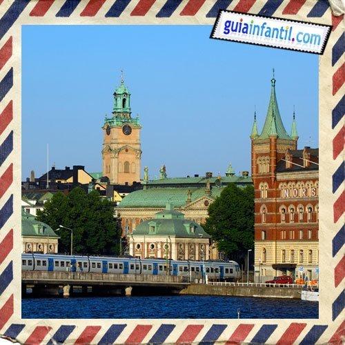 Gamla Stan, ciudad vieja. Viajar a Estocolmo con los niños