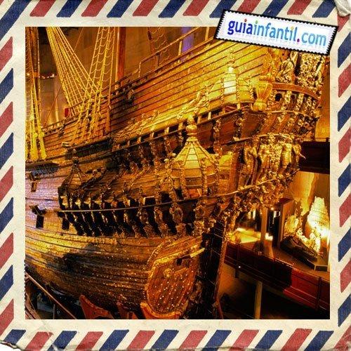 El Museo Vasa. Viajar a Estocolmo con los niños
