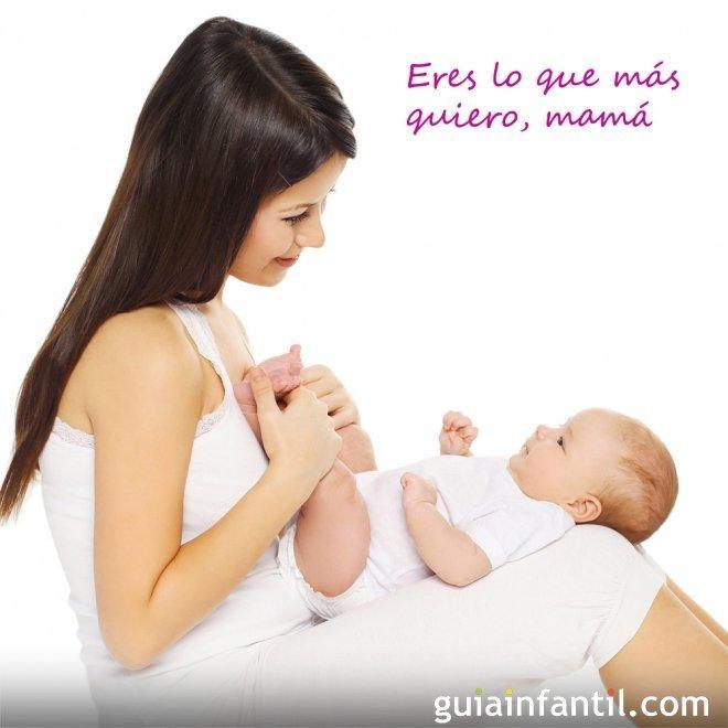 Bebé Con Su Mamá Postales Para El Día De La Madre