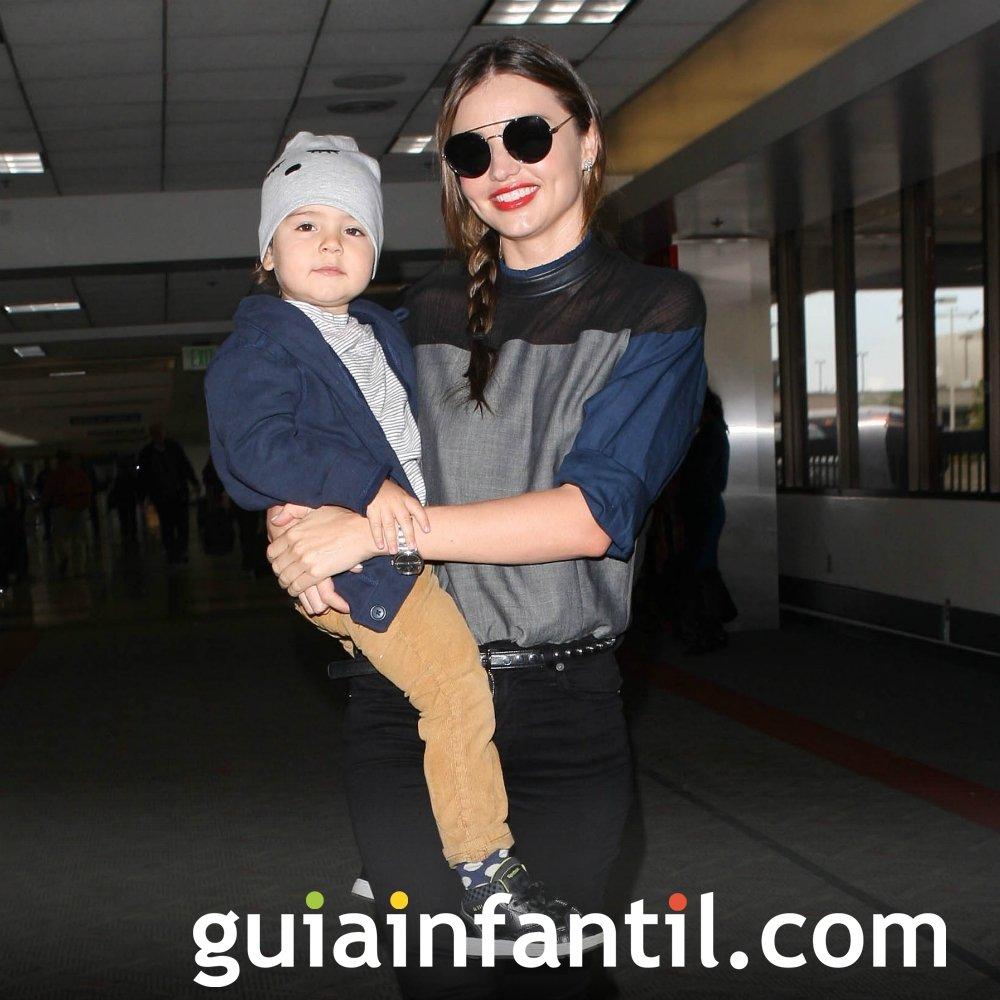 Miranda Kerr y su bebé de nombre Flynn