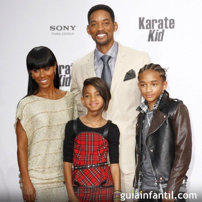 Willow y Jaden son los nombres de los hijos de Will Smith