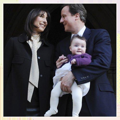 Bautizo de la hija del Primer Ministro británico