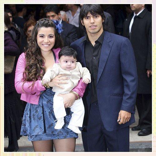 Bautizo del nieto de Maradona