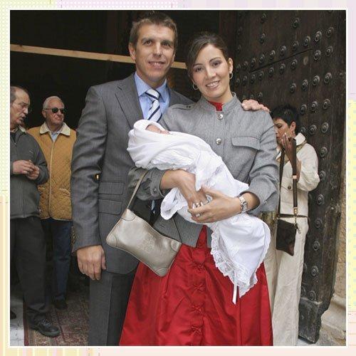 Bautizo del hijo del torero Manuel Díaz