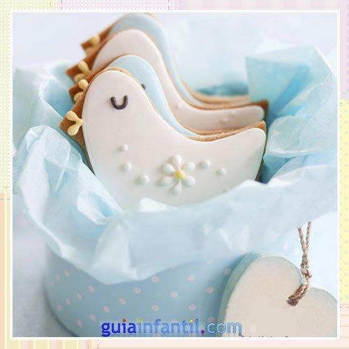 Caja de galletas decoradas para regalar en bautizos