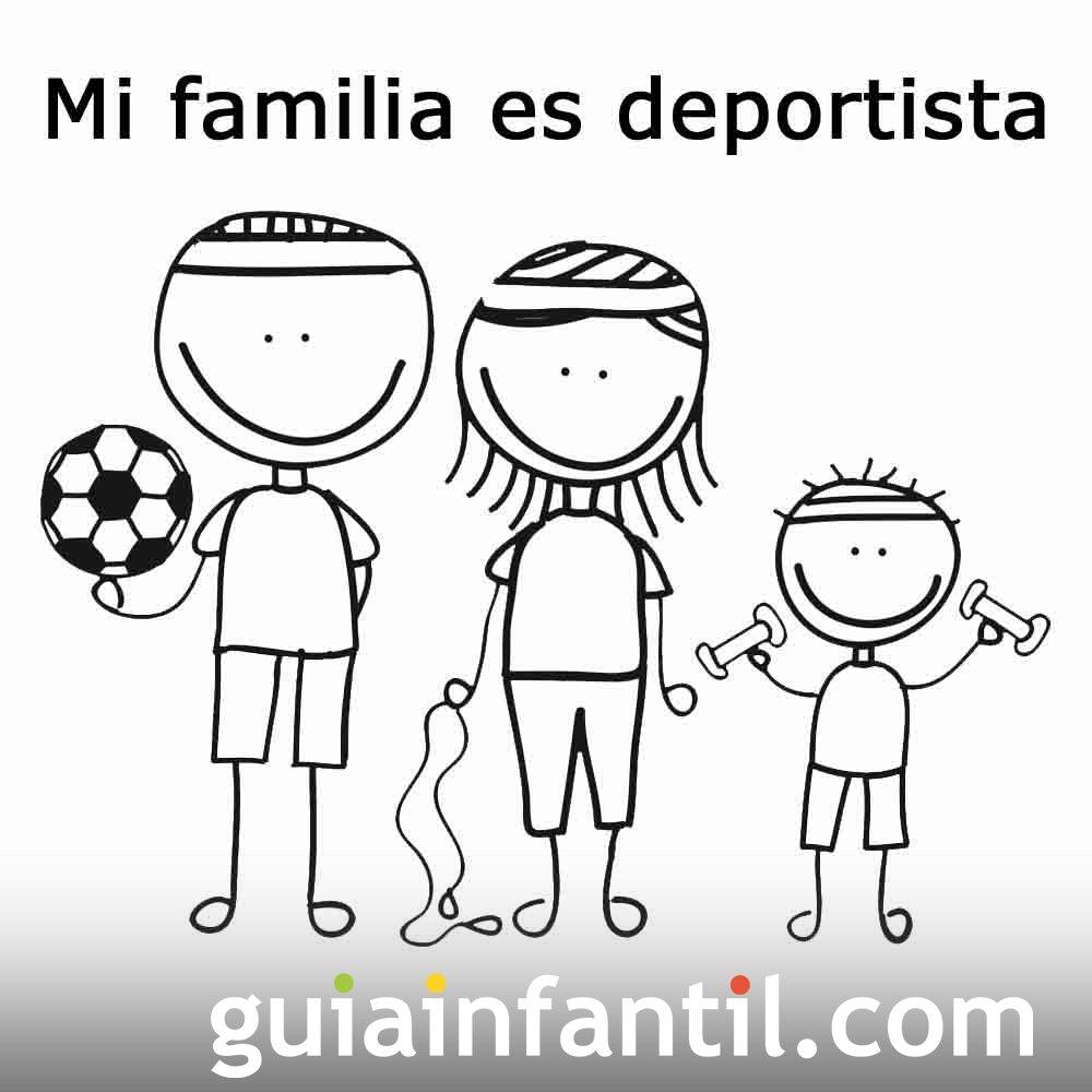 Postales Para El Día De La Familia Padres Jugando Con Sus Hijos