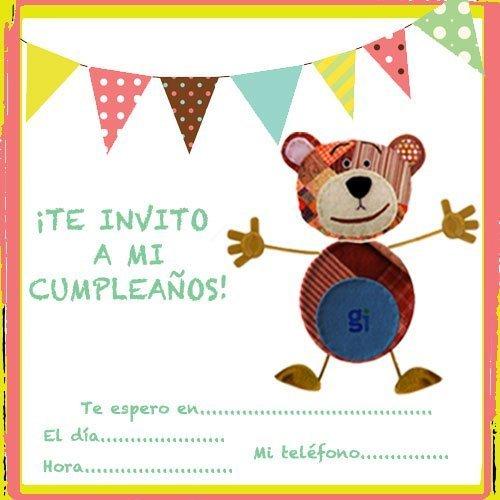 Imprimir ideas de invitaciones de cumplea os para ni os - Cumpleanos de bebes ...