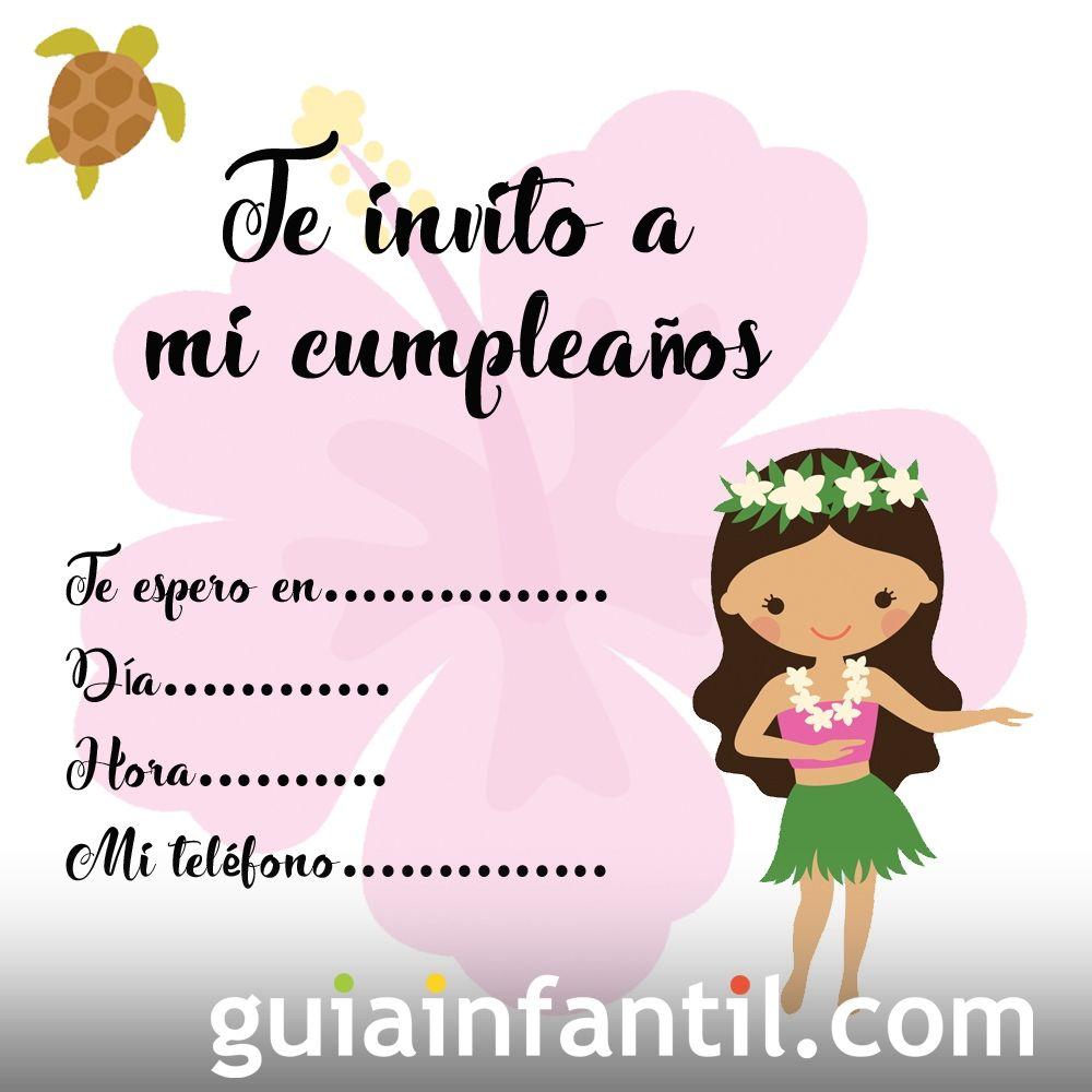 Invitaciones de princesas para fiestas de cumpleaños
