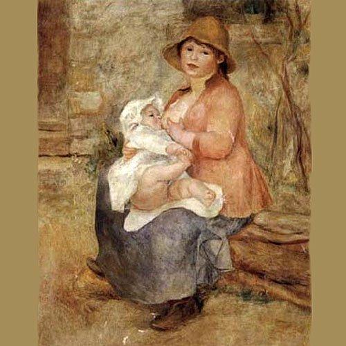 'Maternidad', de Renoir. El arte de amamantar