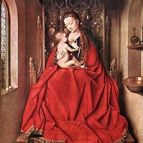 'Virgen de Lucca', de Van Eyck. El arte de amamantar