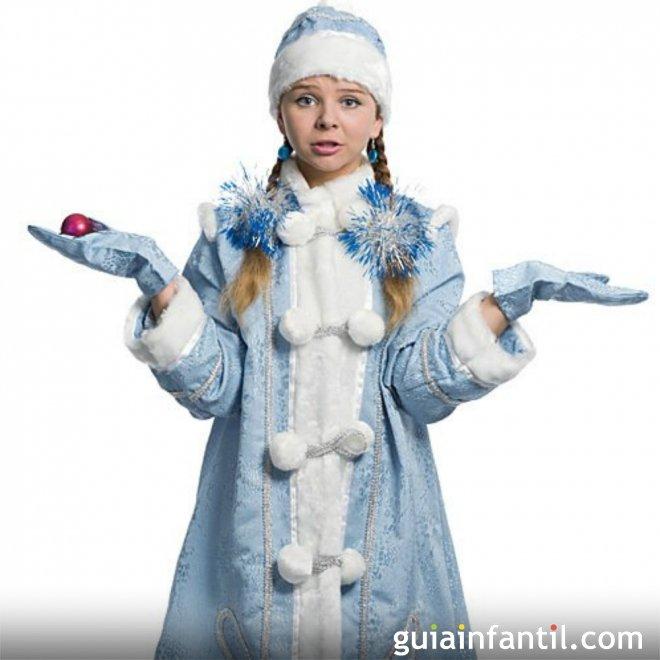 disfraz de nia nieve