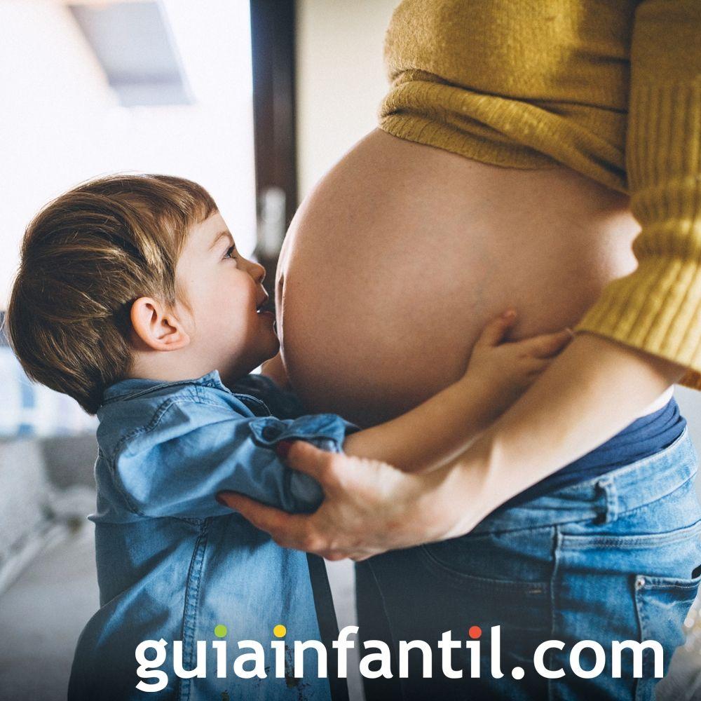 3- Cómo crece el bebé en la barriga de la madre