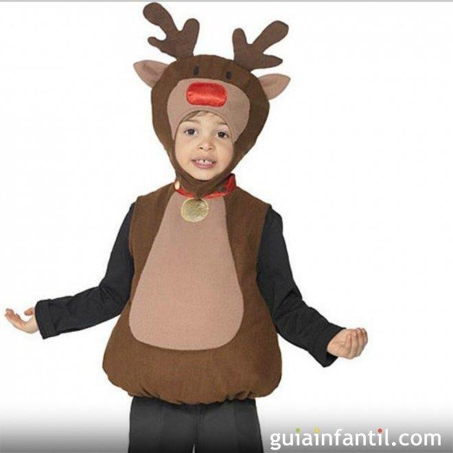 Disfraz de reno disfraces de navidad para los ni os - Disfraz de reno nina ...