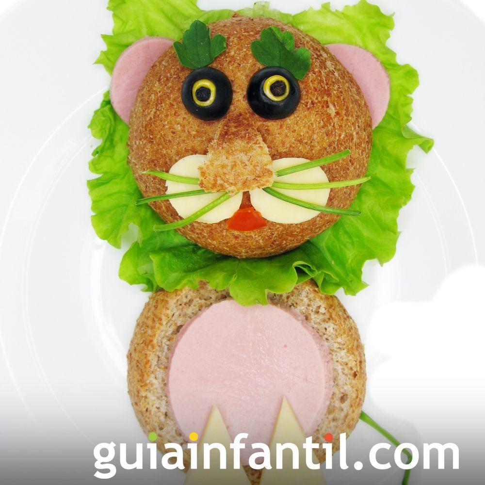 9- Sándwich de jamón y queso: don gato