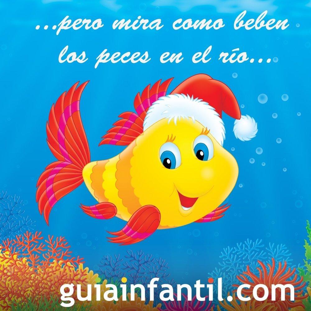 Los peces en el río. Villancico navideño