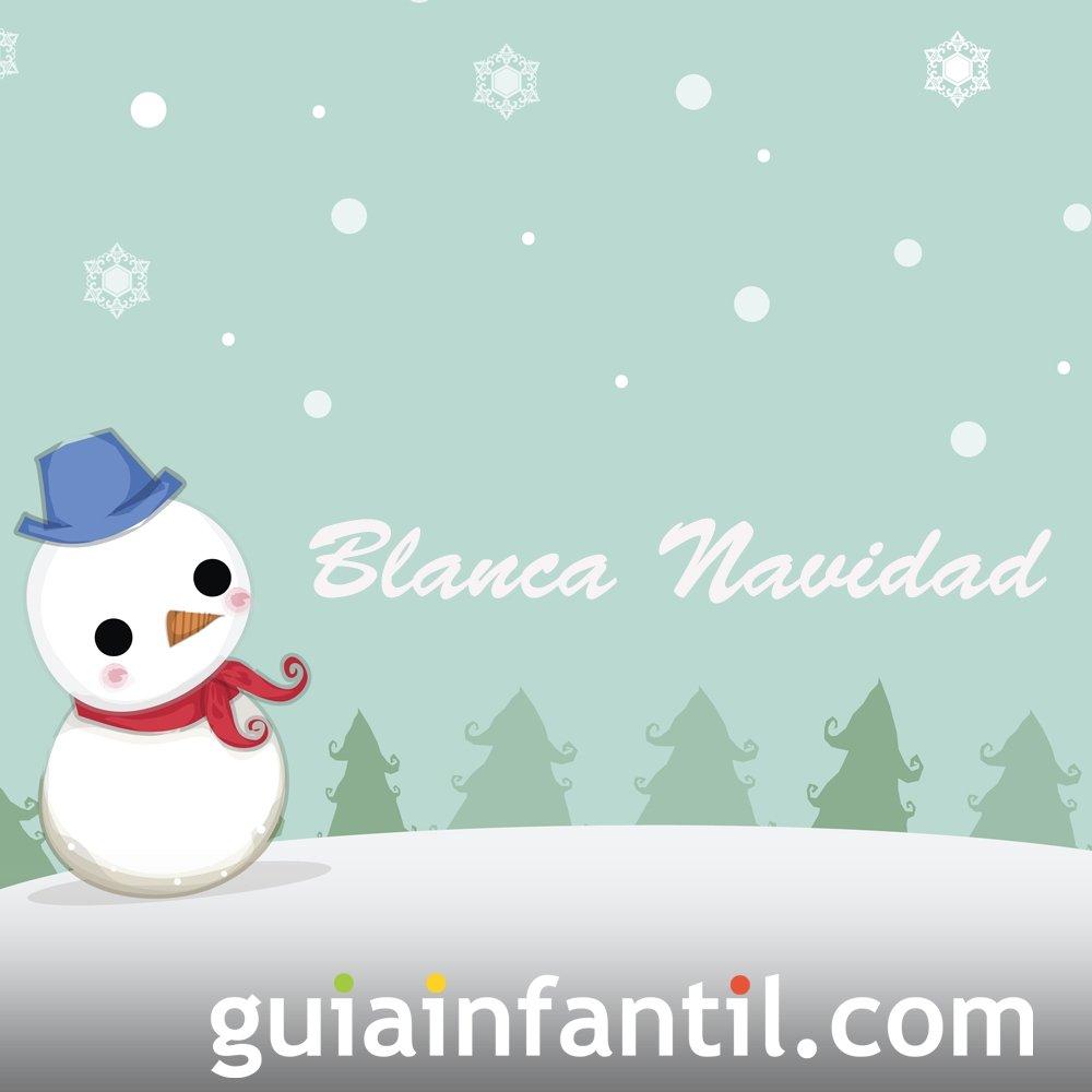 Villancico 'Blanca Navidad' para niños