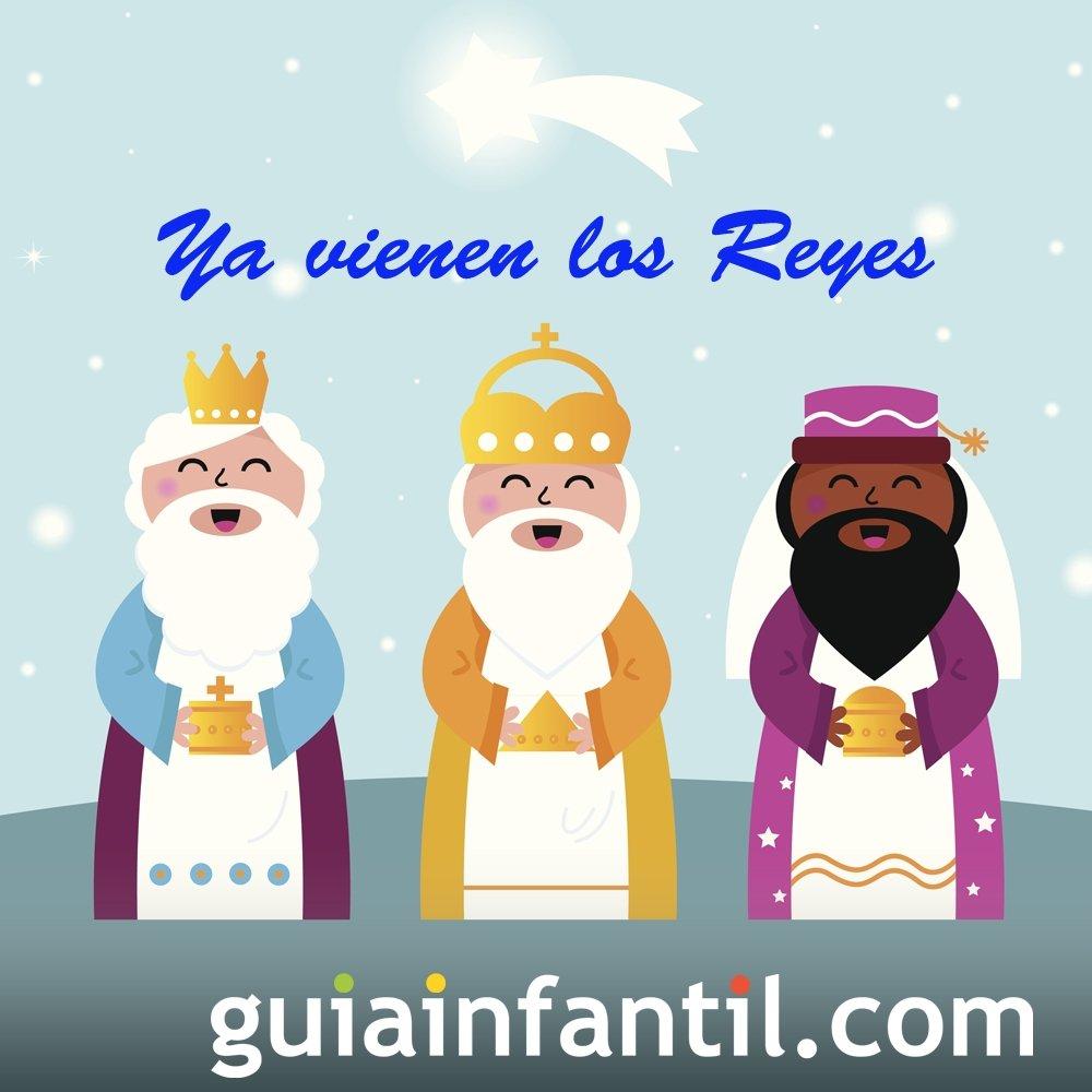 Ya vienen los reyes. Villancico navideño