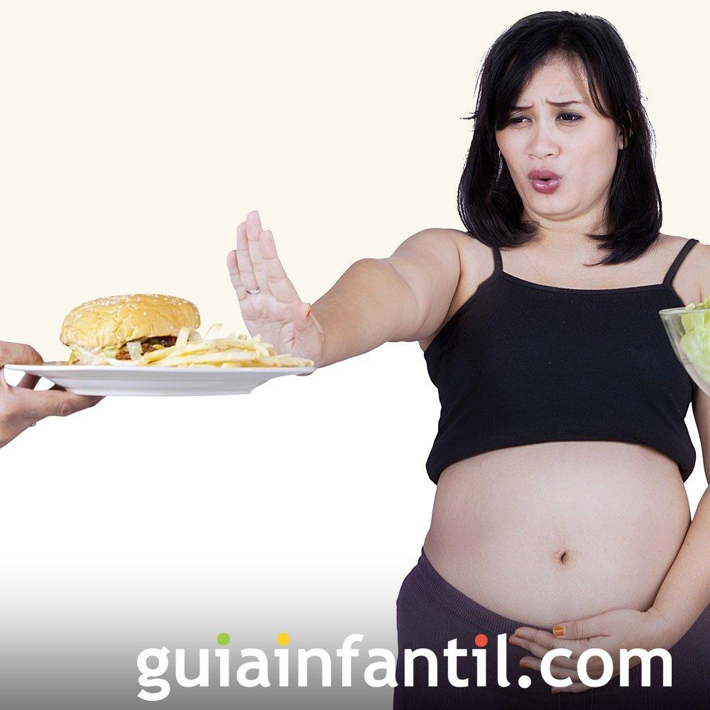 Evitar consumo de carnes crudas en el embarazo