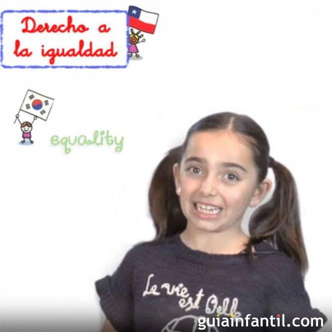 Derecho de los Niños a la igualdad