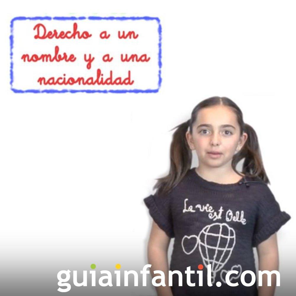 Derecho de los Niños a tener un nombre
