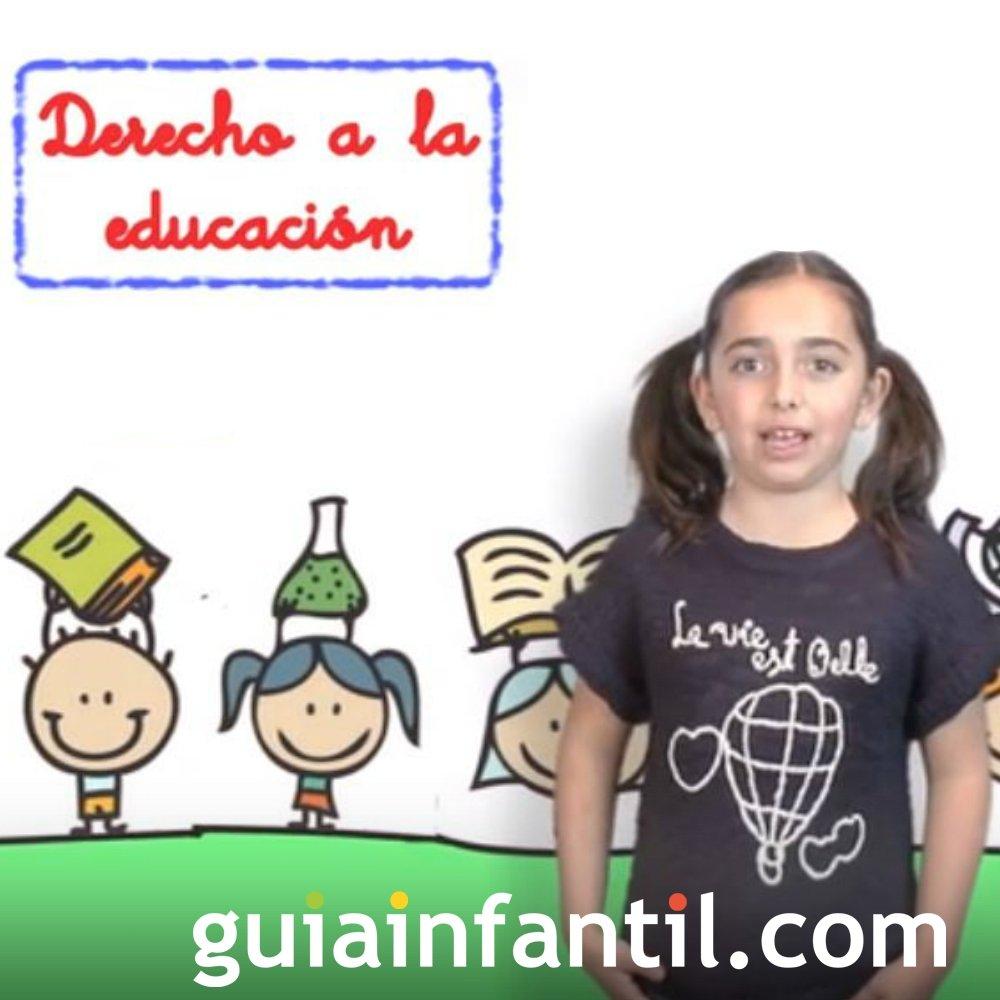 Derecho del Niño a recibir una educación