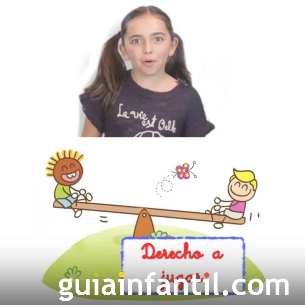 Derecho del niño a jugar