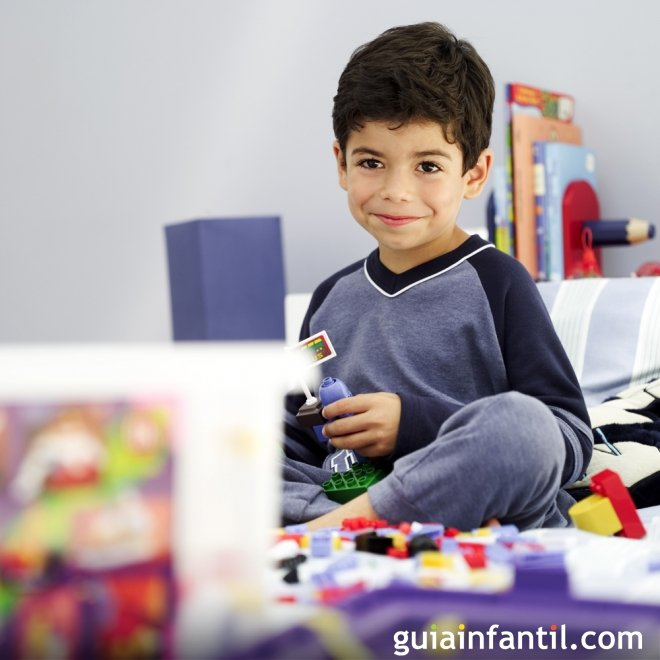4. Propósitos para Año Nuevo: recoger los juguetes