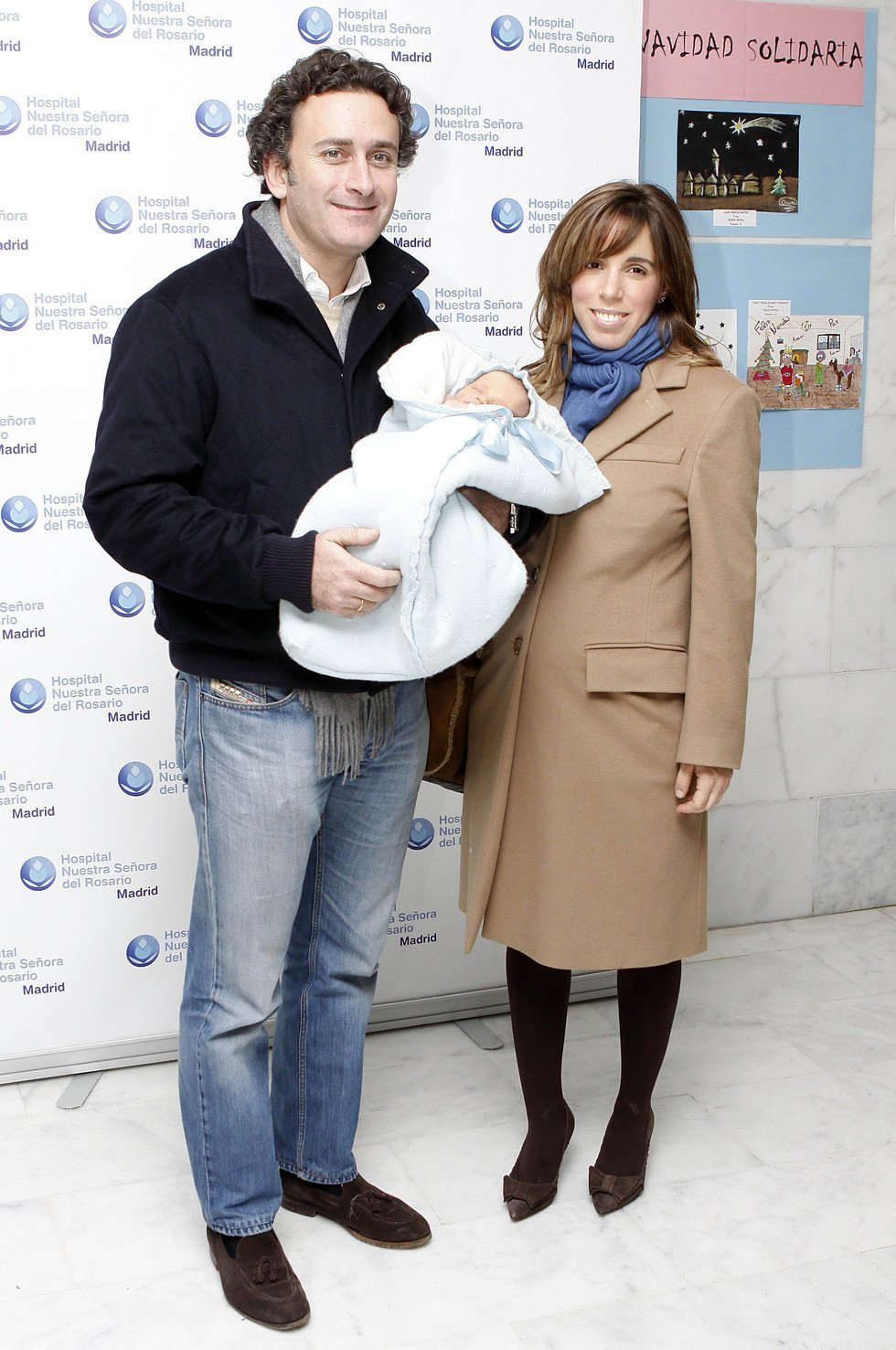 Ana Aznar y Alejandro Agag presentan a su bebé Alonso