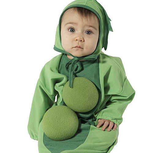 Disfraz de Judías verdes para bebés