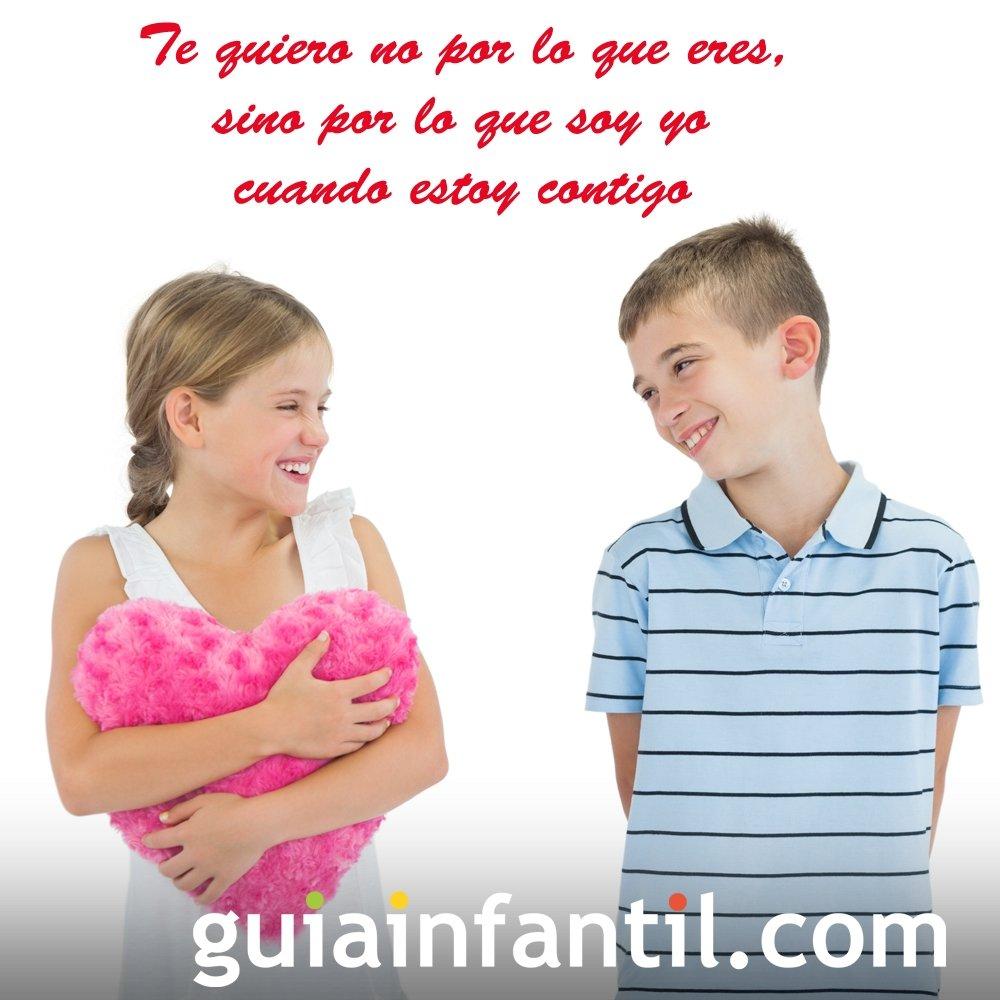 Tarjetas De San Valentín Con Frases De Amor Para Niños
