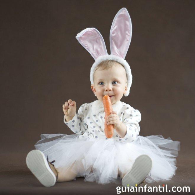 Disfraz de conejita para beb s disfraces de carnaval - Disfraces para bebes de un ano ...
