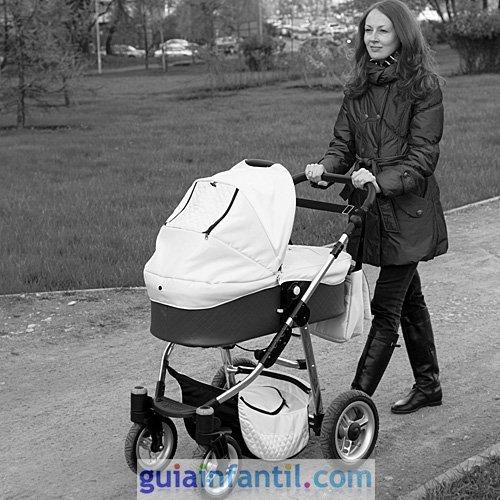 Foto del primer paseo del bebé
