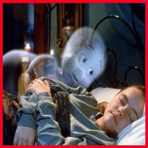 Casper hizo volar la imaginación de su amiga Kat