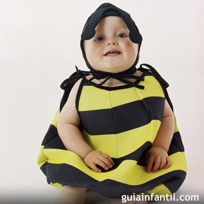 Disfraz de abeja para beb s - Como hacer un disfraz de bebe ...