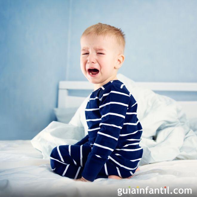 Sueño. Por qué tienen berrinches los niños