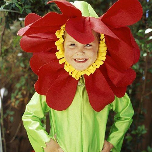 Disfraz de flor para niñas